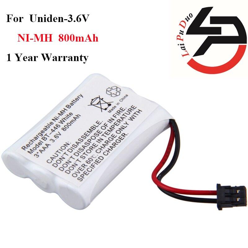 3.6 V 800 mAh AAA NiMH Téléphone Sans Fil Rechargeable Batterie BT-446 Remplacement Pack BP 446 BT-1005 ER-P512