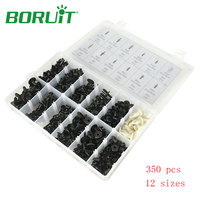 Hot Sale 350PCs Set Car Auto Push Pin Rivet Trim Clip Panel Body Interior Assortment Set