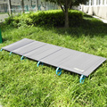 Novo 1.68 kg Ultraleve Liga de Alumínio Cama Dobrável Cama Portátil Cama Mesa Cama Dobrável Ao Ar Livre de Acampamento Ao Ar Livre Esteira de Acampamento