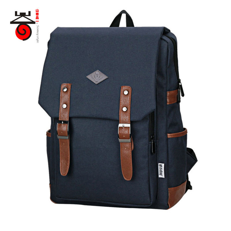 Senkey style Youth Trend Men Students School Bags Teenagers Boys Girls Fashion Women font b Backpack