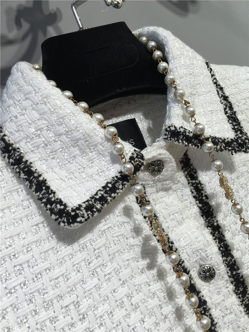 women elegant office dress,custom plus size xs-6xl,tweed winter dress,ladies vestidos de fiesta,tweed autumn White dress 7