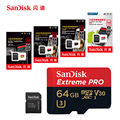 SanDisk Micro SD Card 100MB/s 256GB 128GB 64GB 32GB 16GB U3/U1 V30 A1 Class 10 Memory Card SDXC SDHC microsd Flash TF Card