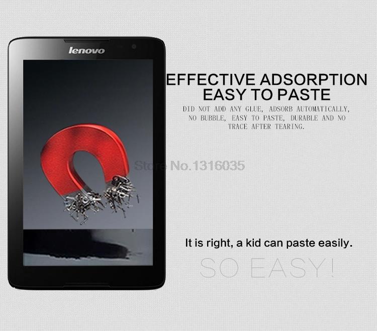 Lenovo A8-50 A5500 8 düymlük ekran qoruyucu filmi üçün isti - Planşet aksesuarları - Fotoqrafiya 4