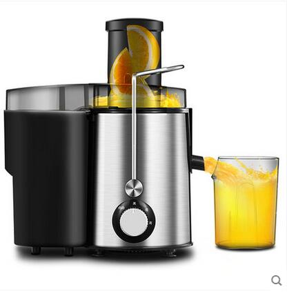 Stainless Steel Electric Juicer Fruit Juice Extractor Home Exprimidor Vegetable Blender Machine Food Processor 500ML commercial blender multifunctional food processor silent juice extractor soybean milk machine st 992