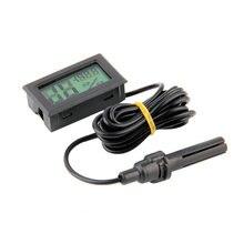 Влажности гигрометр измеритель датчика жк-цифровой температуры термометр дисплей профессиональный цифровой мини