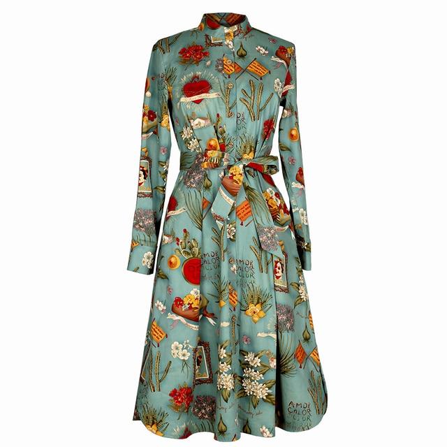 Langarm kleid vintage