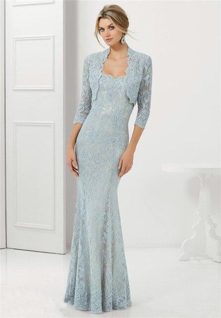 Sweetheart Neckline Applique Lace Mermaid Slim Evening Dress ...