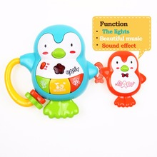Baby Music Toys Light Funny Penguin Educational Toys