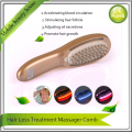 USB Recharging Hair Loss Treatment Vibrating Infrared Massager Comb For Hair Nourishing Restoration Regrowth