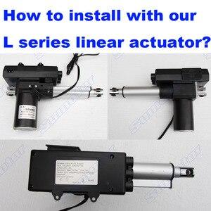 Image 4 - Eingang AC 100 240 V Motor controller kit Für 2 Linear antriebe DC 24 V 4A schalter netzteil manuelle + Wireless remote Synchron