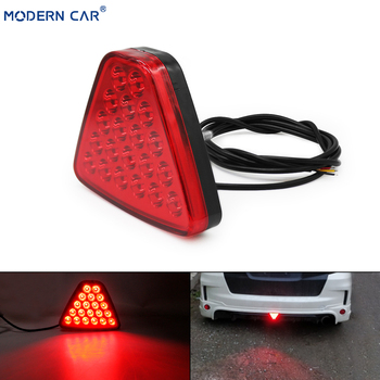 цена на MODERN CAR Red Turn Signal Flow Led Strip Tail Light Universal Auto Stop DRL Reversing Lamp Flash Car Parking Brake Light 6000K