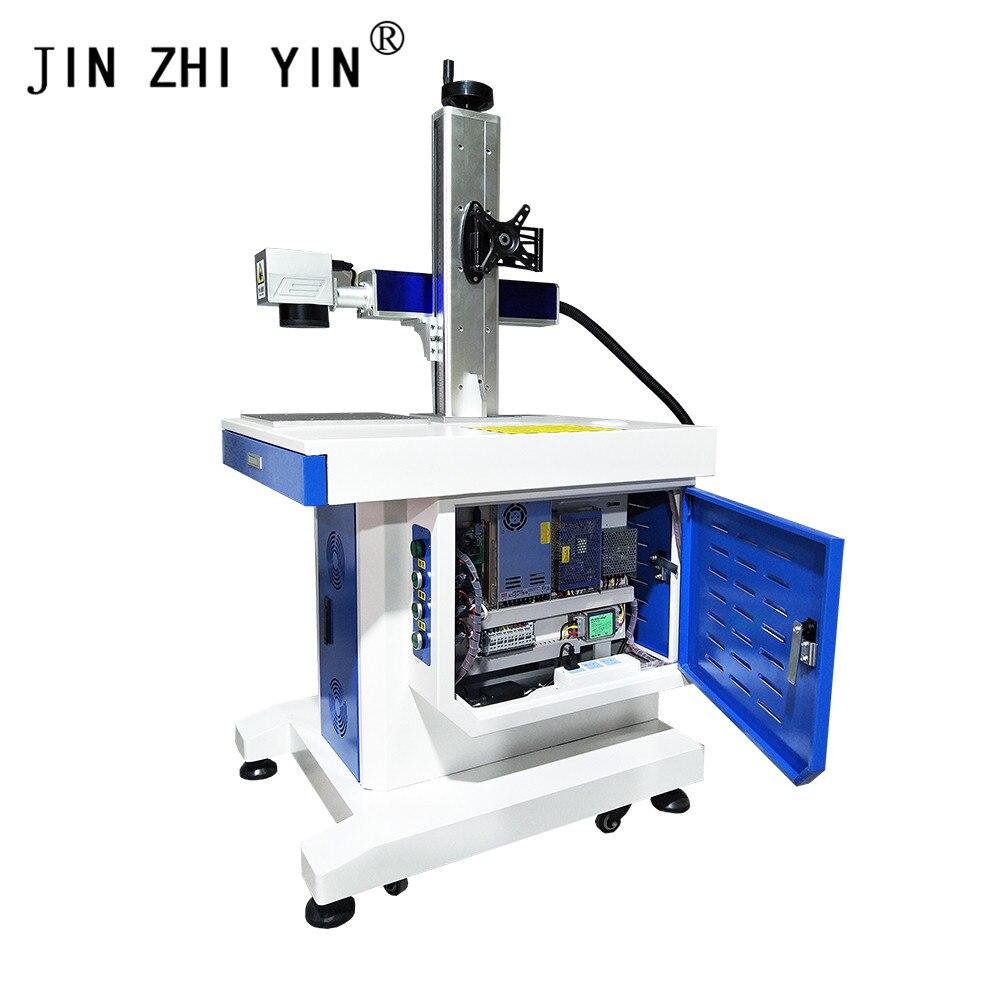 20W New Desktop Fiber Metal Laser Marking Machine Raycus Laser Source For Stainless Steel Engraving