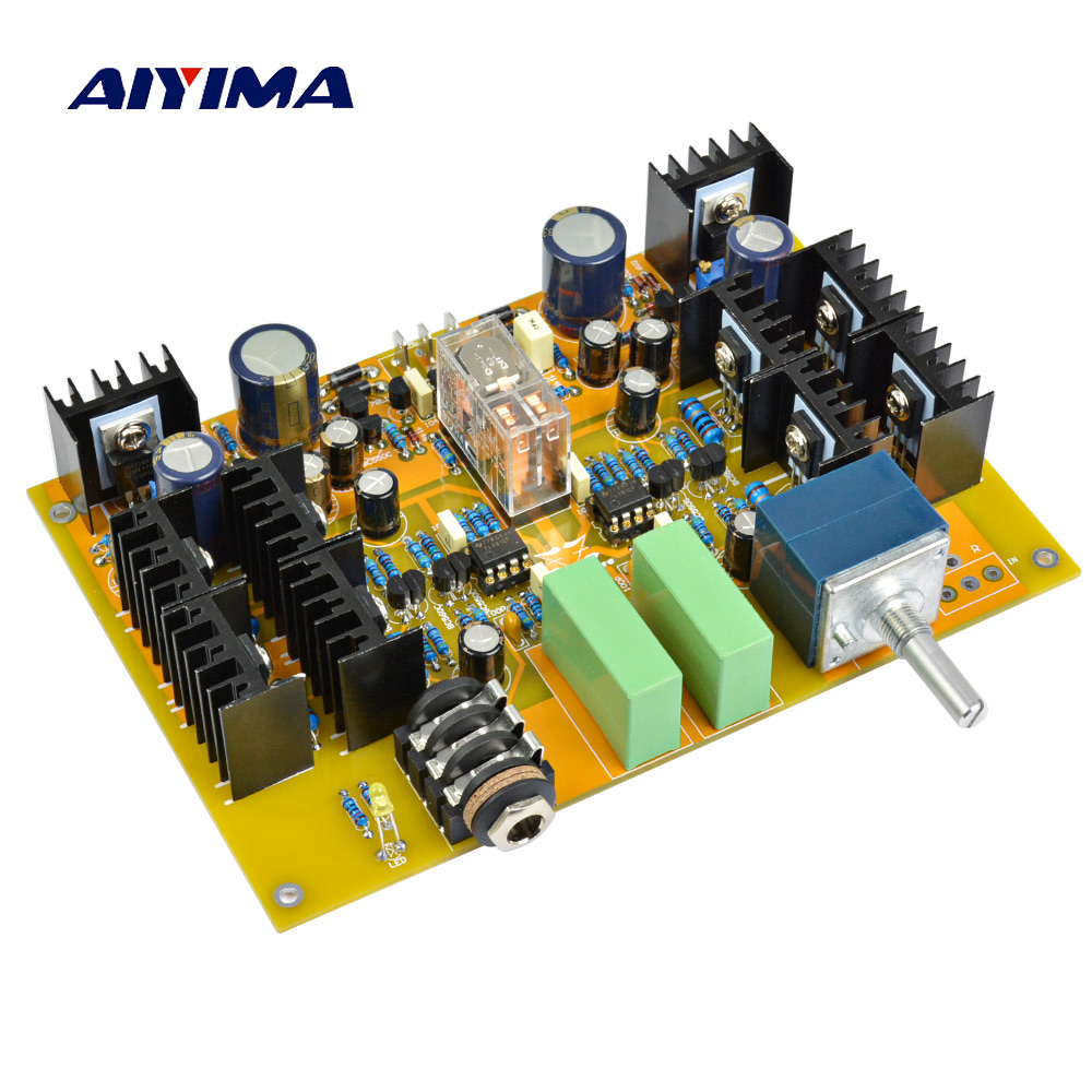Aiyima Lehmann HV-4 Headphone Amplifier Board With ALPS 27 Type Potentiometer цена 2017