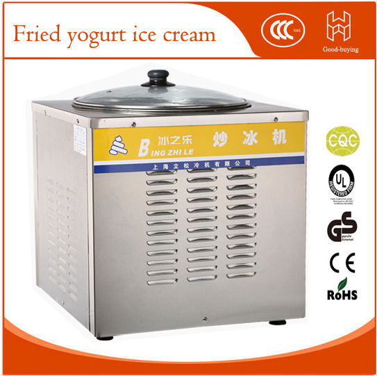 Commercial Ice fried machine Double pan Ice cream Frying Machine Yogurt fried machine Fried yogurt ice cream double pressure ice frying machine double pan fried ice cream machine