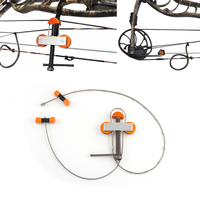 Aluminum Bow Press Small Bowmaster Portable Bow Press Archery Tool Compound Bow Accessories NO Bracket Outdoor Hunting Shooting