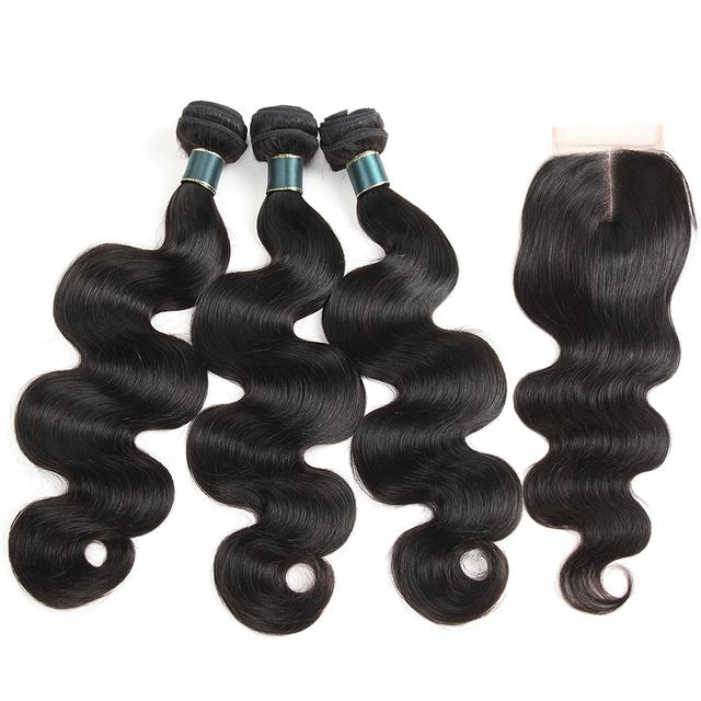 Peruvian Body Wave Human Hair 3 Bundles