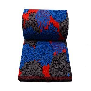 Image 2 - Royal Real Cloth Wax Tissu 100% Cotton High Quality Africa Ankara Prints Batik Fabric Sewing Material For Wedding Dress 6yards