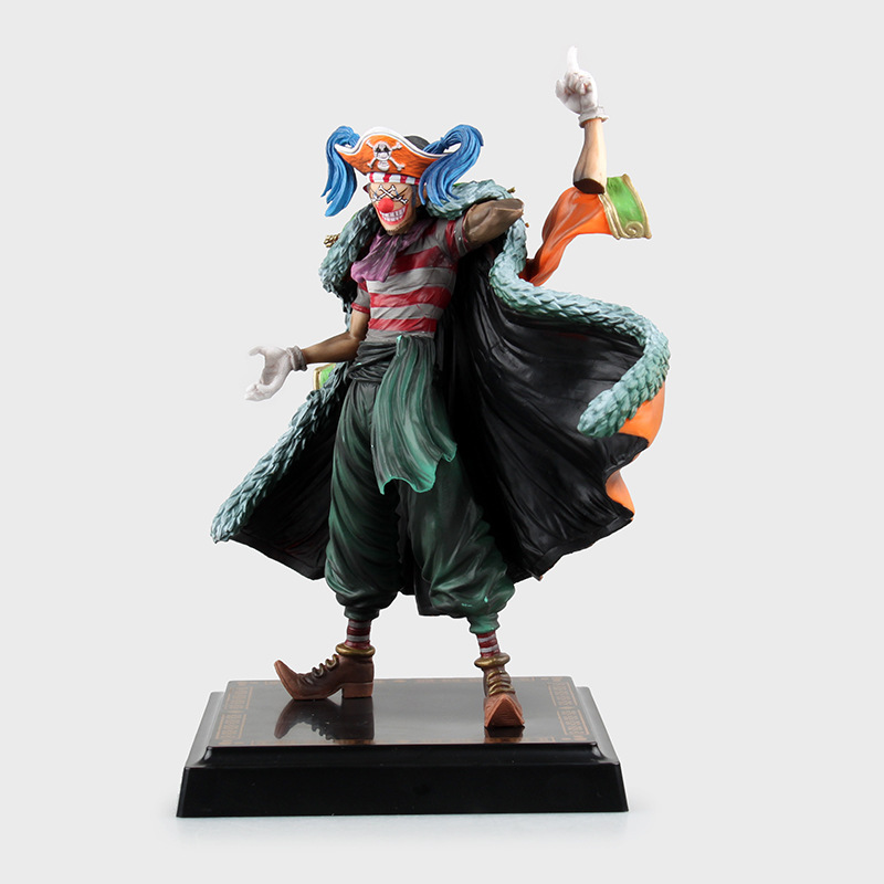 One Piece Buggy Figure Monkey D Luffy The Great Gallery Joker C Project Chop Chop Fruit Action Figure Model Toys Doll Kids Gift