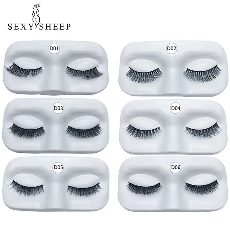 1841af3d02 SEXYSHEEP Natural 3D Mink Thick False Eyelashes Makeup Beauty Party Fake  Eye Lashes Extension Perfect packaging
