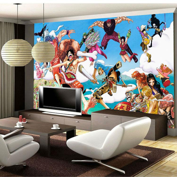 Custom 3D Wallpaper One Piece Photo wallpaper Japanese