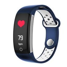2019 CW15 moniteur de fréquence cardiaque Bracelet de Fitness Bracelet intelligent pression artérielle/oxygène Bracelet intelligent Q6 bande IP68 montre étanche