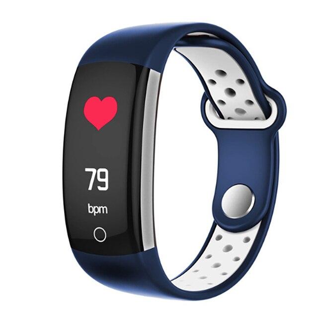 2019 CW15 Heart Rate Monitor Fitness Bracelet Smart Wristband Blood Pressure/Oxygen Smart Bracelet Q6 Band IP68 Waterproof Watch