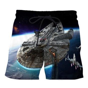 PLstar Cosmos 2019 Summer Men Starwars Shorts  3D Trousers For Women/Men Regualr Shorts  Plus Size S-7XL Dropshippiong g4s security mercenary soldier army logo men s white size summer mask women kid s pm2 5