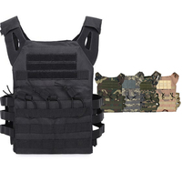 JPC Plate Carrier Tactical Vest Military Airsoft Sport Paintball Armor Vest Camouflage Hunting Gear Body Protection Vest