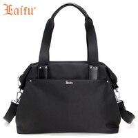 Laifu Brand Large Capacity Travel Bag Women Weekend Bag Casual Waterproof Nylon Handbag Traveling Shopping School