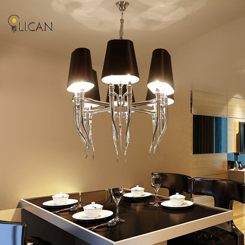 Modern Pendant Chandelier Lighting White Lights For Hall Living Room In Chandeliers From On