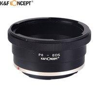 K&F CONCEPT For Pentacon EOS Camera Lens Adapter Ring For Pentacon/Kiev 60 Lens to Canon EOS EF Camera Body 50D 7D 5D 650D 550D