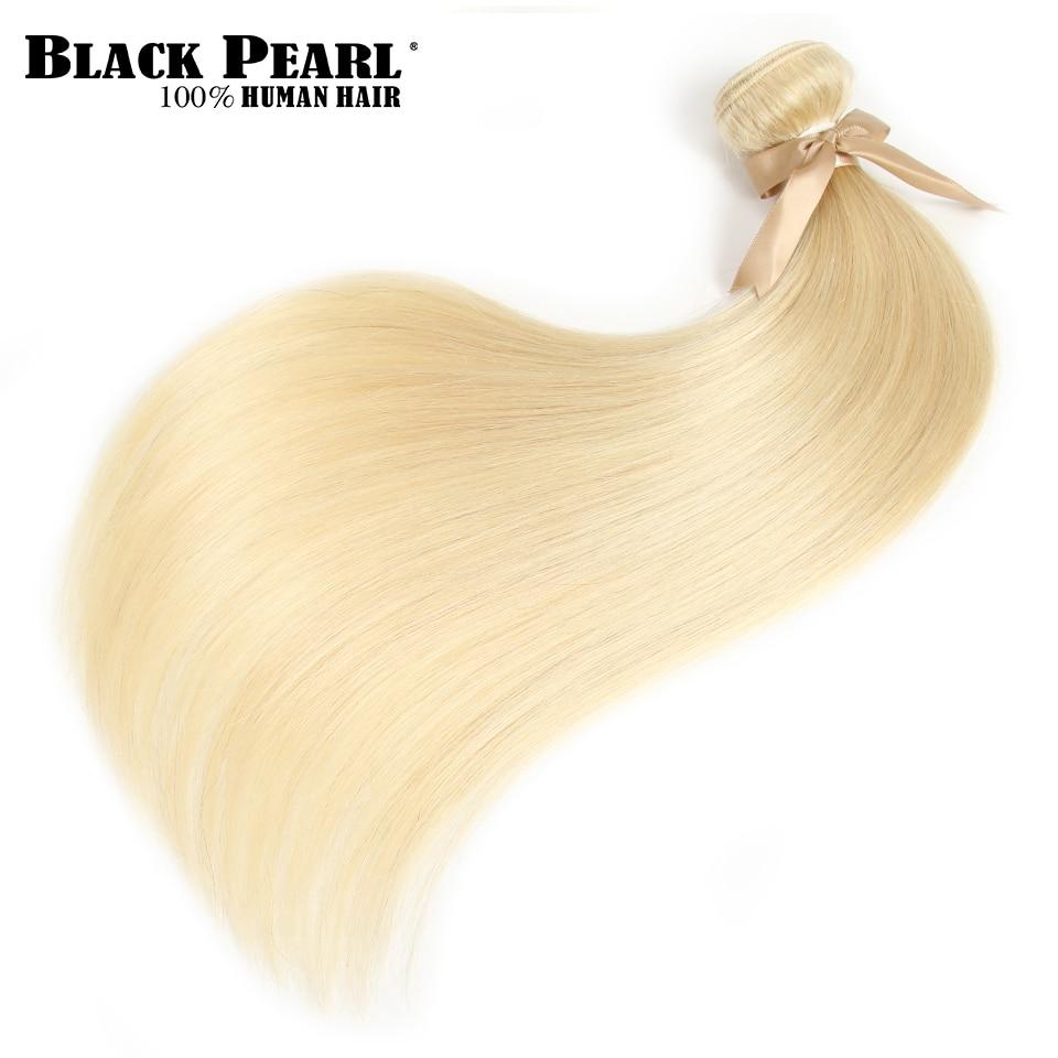 HTB15pW6X5frK1RjSspbq6A4pFXa4 Black Pearl Honey Blonde Bundles With Closure Brazilian Remy Straight Human Hair 613 Bundles With Closure Free Shipping