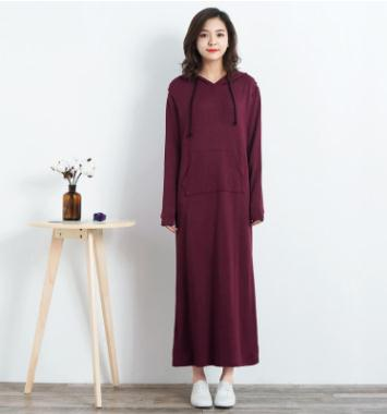 Fashion Slim Long Maternity 2018 Spring Autumn Long Sleeved Modal Breastfeeding Clothes for Pregnant Women Nursing Dress WX982