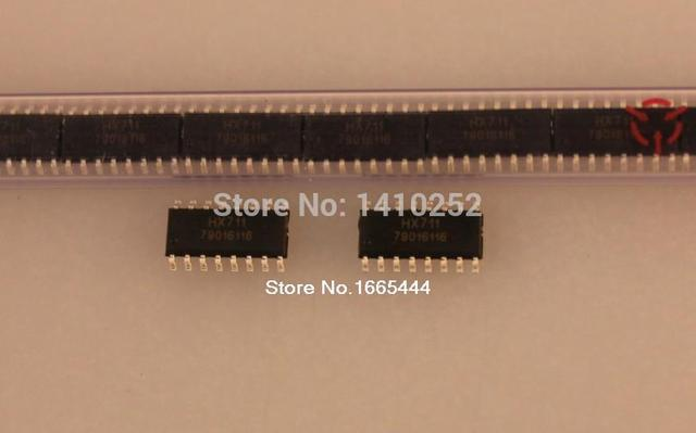 Darmowa dostawa! HX711 SOP16 100 sztuk/partii nowy i oryginalny w magazynie