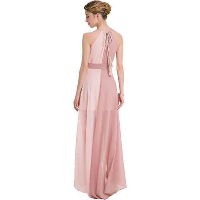 Online Shop Party Dresses Floor Length Long Summer Dress Women ...