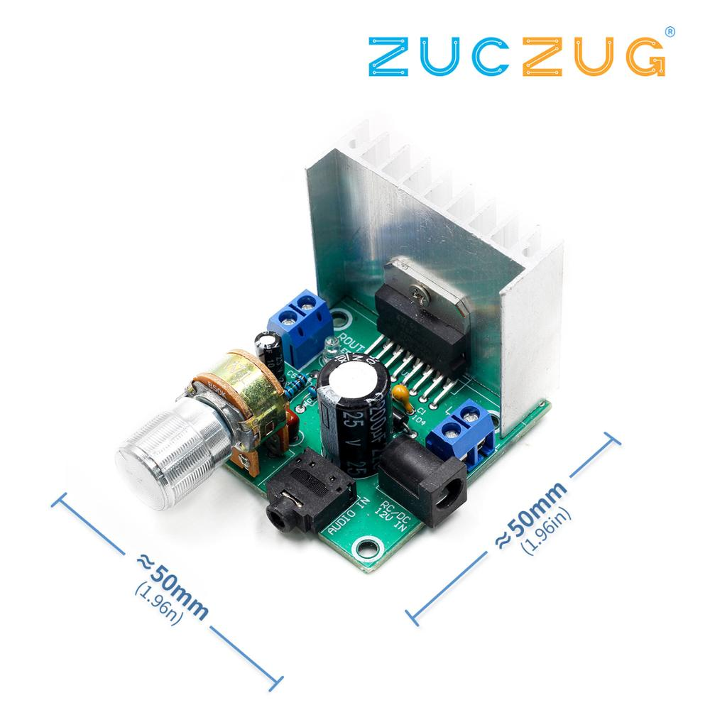 1PCS Tda7297 Amplifier Board Digital Amplifier Board Dual-channel Amplifier Board Finished No Noise 12V Dual 15W (A Type)