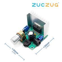 Placa amplificadora tda7297, placa amplificadora digital, placa para amplificador acabado de doble canal, sin ruido, 12V, dual, 15W (tipo A), 1 Uds.