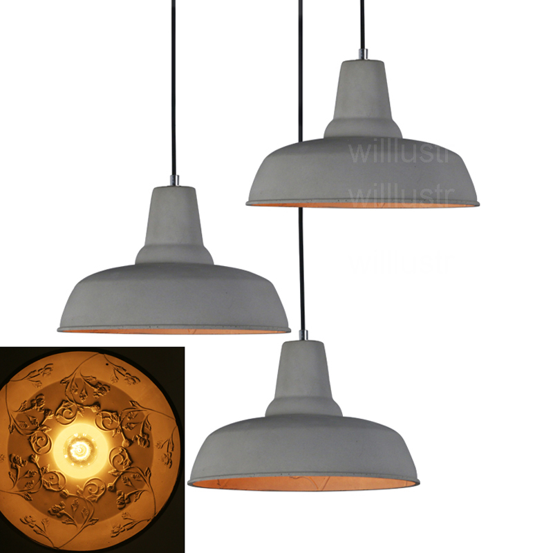 Willlustr cement suspension skygarden lamp hotel restaurant hanging lighting dinning room bedside concrete pendant light willlustr murano due muranodue replica leucos deluxe suspension light white black glass diamond lighting hotel pendant lamp
