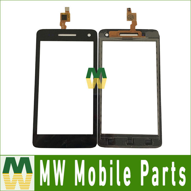 1PC/ Lot High Quality  For Micromax a120  Touch Screen Digitizer Replacement Part  Black Color