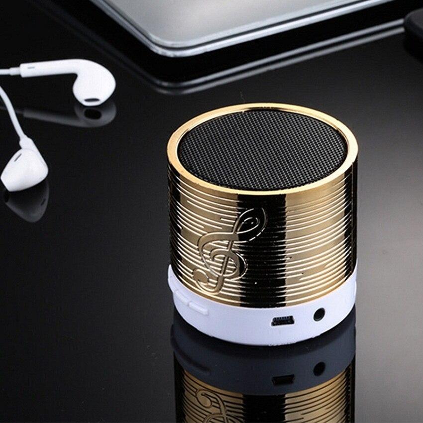 Wireless Mini Bluetooth Speaker Sound Box Subwoofer Bluetooth Speakerphone TF Card Voice Prompts Handsfree Range Full Speaker