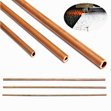 High Quality Copper Tube Plumbing Pipe/Tube DIY Rod 3mm/4mm/5mm/6mm/7mm-18mm Inner Diameter 200mm-1000mm Length