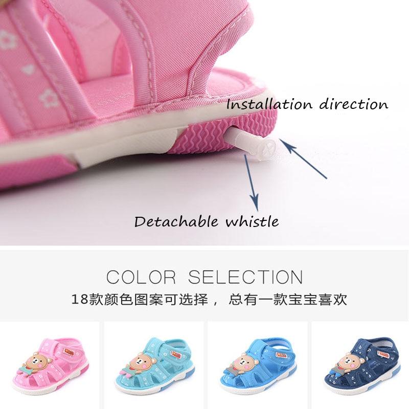 Toddler Kids Girl Sound Shoe First