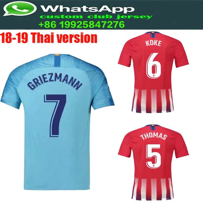 Buy camiseta jersey atletico and get free shipping on AliExpress.com d13d873eb