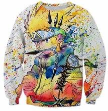 Naruto/ Kakashi One Piece Sweatshirt Pullover