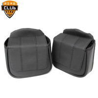 Motorcycle Lower Vented Leg Fairing Glove Box Tool Bag For Harley Touring Road King Road Glide Street Glide 2014 2018