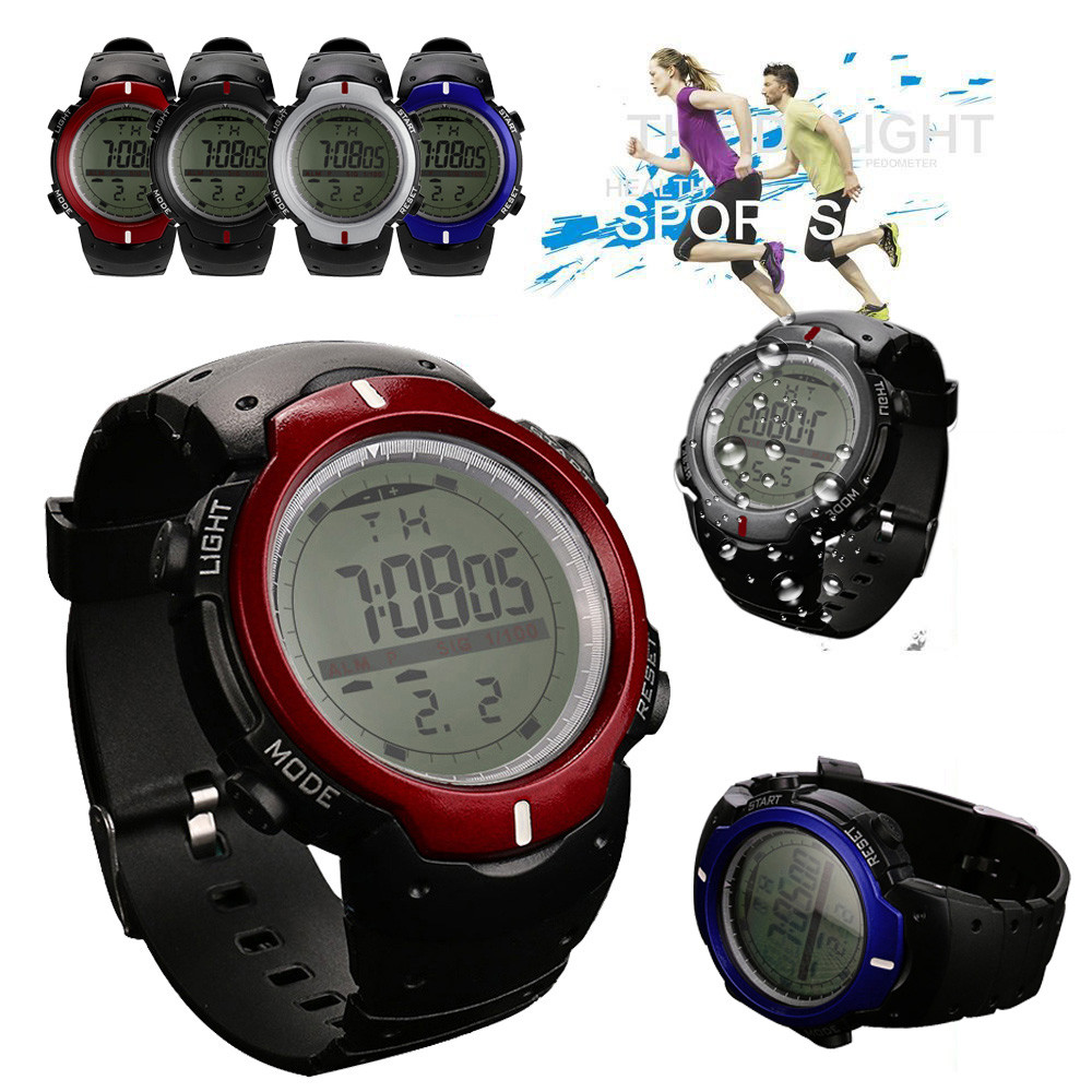 Men Watch Sport Watches Luxury Brand Mens Analog Digital Military Army Sport LED Waterpr ...