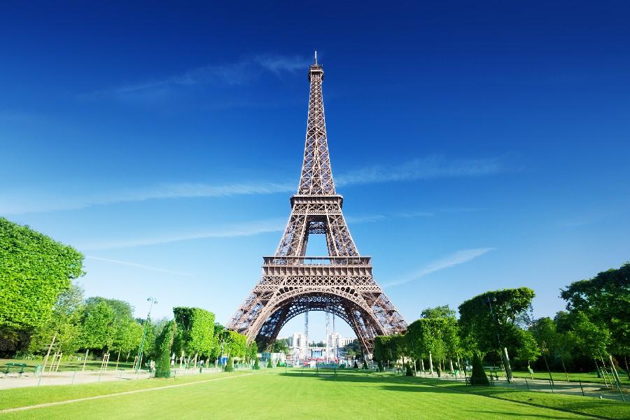 diy frame famous landmarks paris city eiffel tower urban