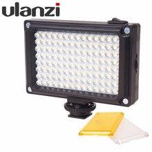 Ulanzi Arilight 112 СВЕТОДИОДНЫЕ Подцветки Фонарь Освещения На DSLR Камеры с Аккумулятором и Фильтрами для Видеоблог Прямой канал на Youtube