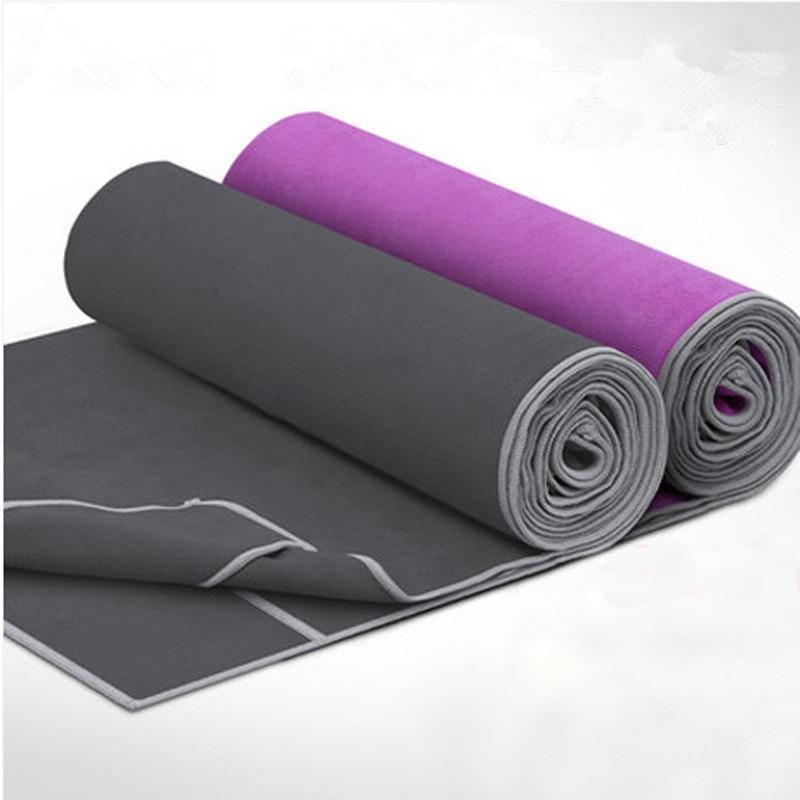 Yoga Mat Towel Sports Direct: Yoga Blanket 185*65cm Sweat Absorbent Non Slip Yoga Towel