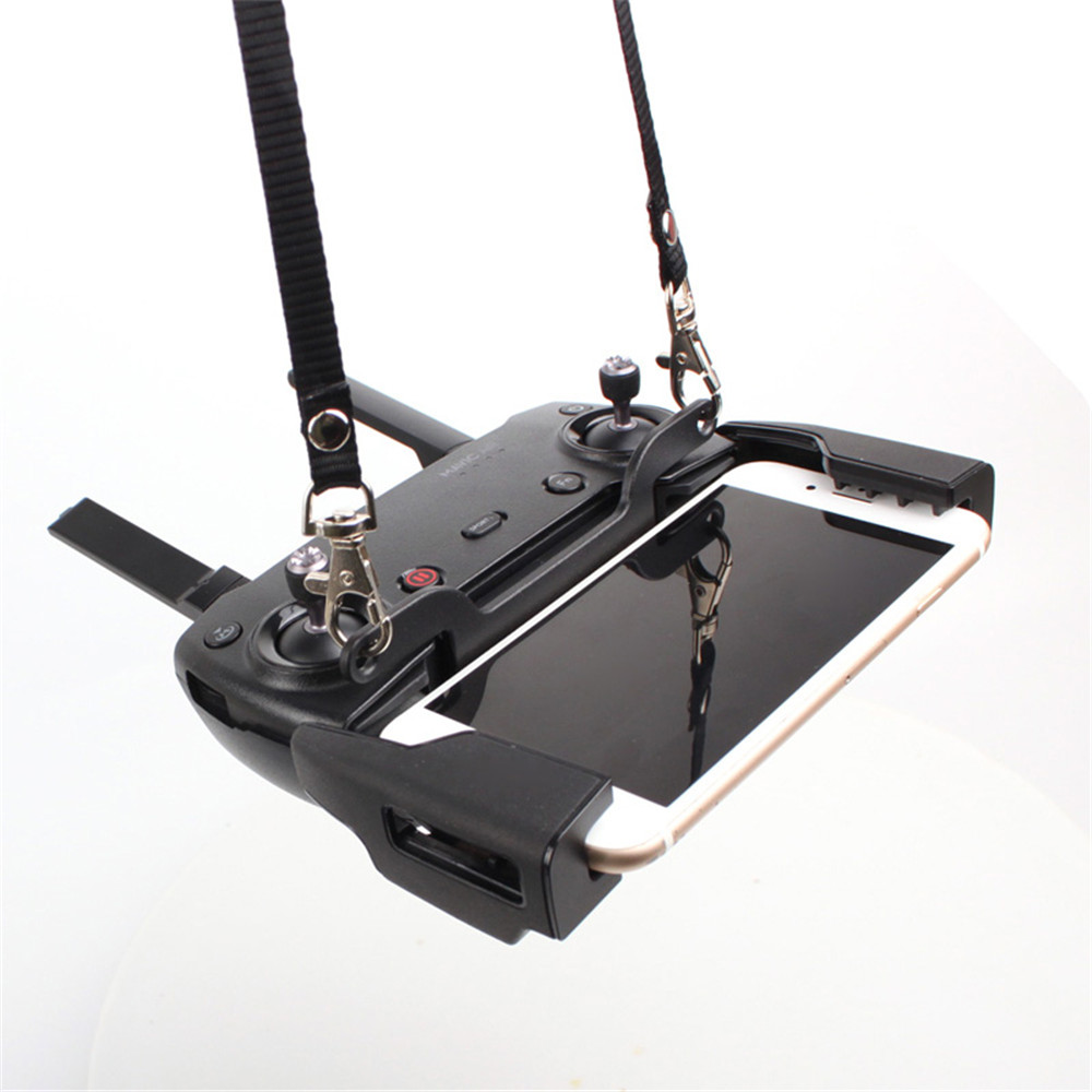 Remote Controller Double Hanging Buckle For DJI Mavic 2/MINI/PRO/Air/Spark Hook Bracket Lanyard Strap Shoulder Neck Belt Sling